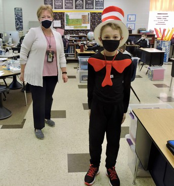 """Dr. Seuss Spirit Week-""""Cat In The Hat"""" Wear stripes and/or Dr. Seuss shirt"""