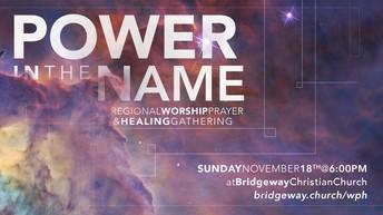 Regional Worship, Prayer and Healing Gathering