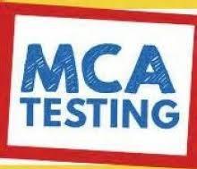MCA TESTING DATES