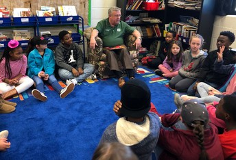 Sheriff Woodruff Reads to Callaway Elementary Students
