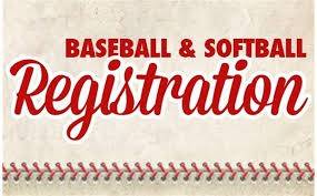 Baseball and softball sign ups