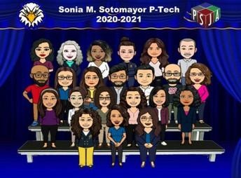 The Sonia M. Sotomayor             P-TECH Staff