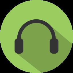 Wear headphones when possible