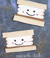 Popsicle Stick smores