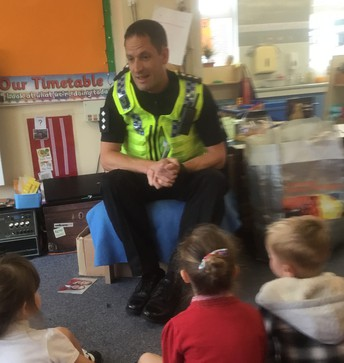 People Who Help Us - EYFS - It's the Police this week!