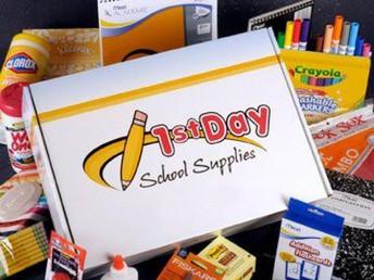 First Day School Supplies