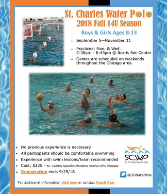 St. Charles Water Polo Flyer