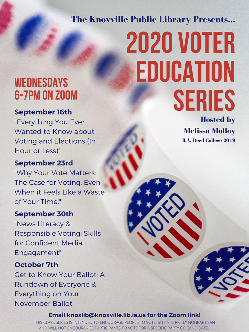 Library Series: Voter Education