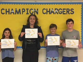 Maple Place School Honors Its First Ever Champion Chargers!