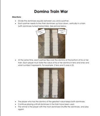 Domino Train Example