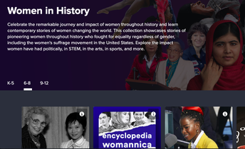 Women's History Month Resources from Discovery Ed