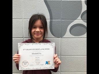 6th Grade - Elizabell Vo
