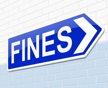 Fines for missing items: