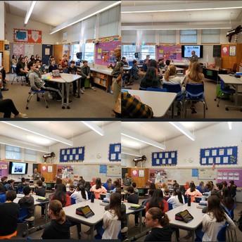 8th Grade Visit from Japanese American living in Petaluma