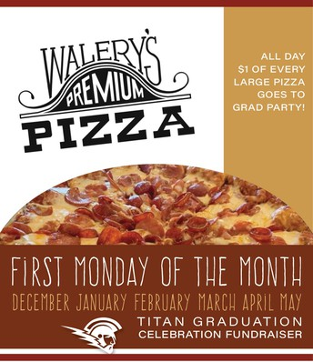 Pizza every 1st Monday!