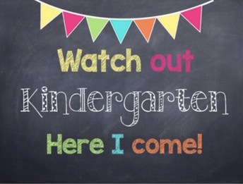 Tips for incoming Kindergarten Students and families