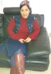 """יונית מסורי,  מורה באולפנת חמ""""ד להב""""ה ומדריכה במחוז תל אביב"""