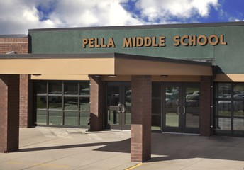 What do I do if I left an Instrument, Laptop, or Medicine at Pella Middle School?