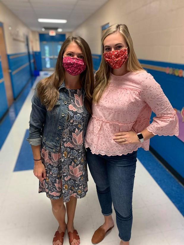 Kindergarten Teachers, Lauryn Schubiger and Georgia Hollowell