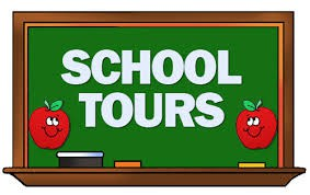 New Parent Tours on Wednesday and Thursday 11/13 & 11/14