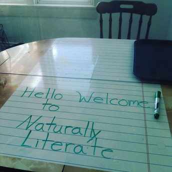 New dry erase large lined paper