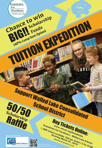 Tuition Expedition  50/50 Scholarship Raffle