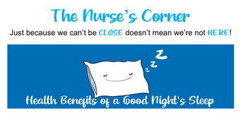 A Note for Our Nurse!