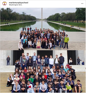 8th Graders Visit Washington DC