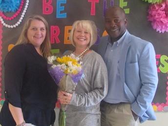 2017-2018 Teacher of the Year- Michelle Garrett