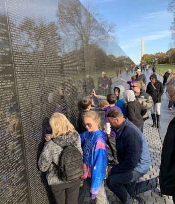 Vietnam Memorial is a Solemn Memory of Lives Lost.