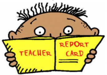Grades 3-5 First Semester Report Cards