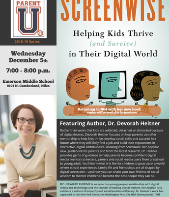 Parent University with Devorah Heitner