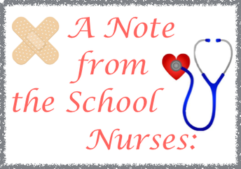 From our School Nurses