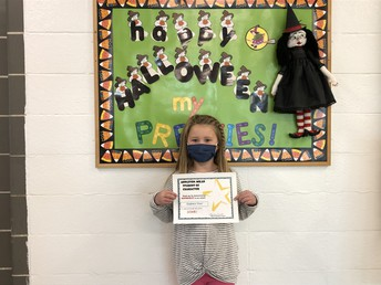 Appleton-Milan October Character Nominee Kaydence Tosel