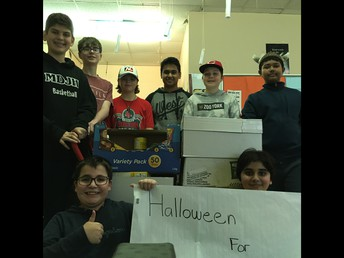 Hallowe'en for Hunger Campaign