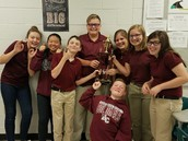 SOUTH MIDDLE SCHOOL ACADEMIC TEAM RECEIVED 1ST PLACE IN TN QUIZ BOWL TOURNAMENT