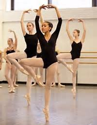 Balletclass at Balletstudio Violetta.