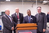 Freeholder Director Bruce Garganio officially opens premier advanced manufacturing training center created by a partnership with RCBC, BCIT and Rowan University