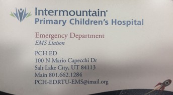 Want Follow up on Patients brought to Primary Children's?