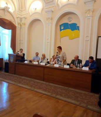 Presentations in Odessa