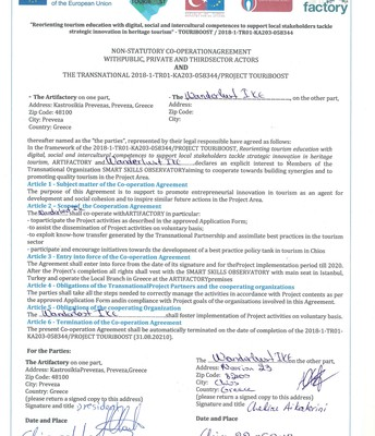 SMART SKILLS OBSERVATORY Signed Agreements_ARTIFACTORY_10