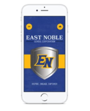 Download the ENSC mobile app to stay connected to all things East Noble.