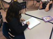 Then, took notes and brain stormed ideas for their technology project