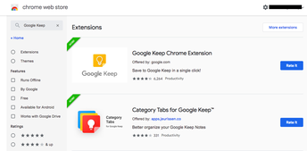 Step 1: Install the Google Keep Chrome Extension