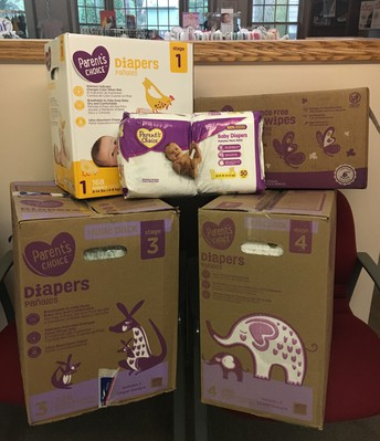 Diaper and Wipes Donation