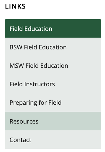 Link to Field Resources page.
