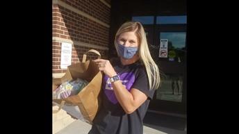 Edgerton Elementary Mask Donation