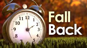 Daylight Savings Time - NOvember 1, 2020