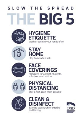 """""""The Big Five"""" Working Together to Stay Healthy"""