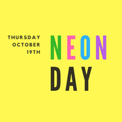 10/19 - Wear your brightest clothes for the day